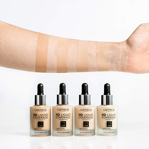 Catrice | HD Liquid Foundation - High & Natural Coverage | Vegan | 030 Sand Beige