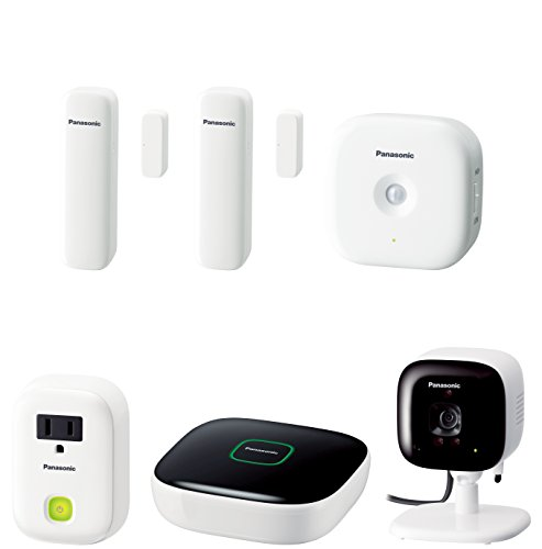 Panasonic KX-HN6022W Smart Home Monitoring Kit (White) Discontinued - Panasonic Outdoor Wireless Network