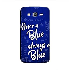 Cover It Up - Chelsea- Once a Blue Galaxy Grand 2 G7106 Hard Case