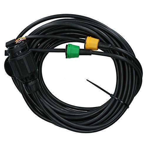 DrillMan 6m Replacement Trailer Wiring Loom Harness 13Pin Plug AJBA Plugs 6 Pin: Amazon.co.uk: DIY & Tools