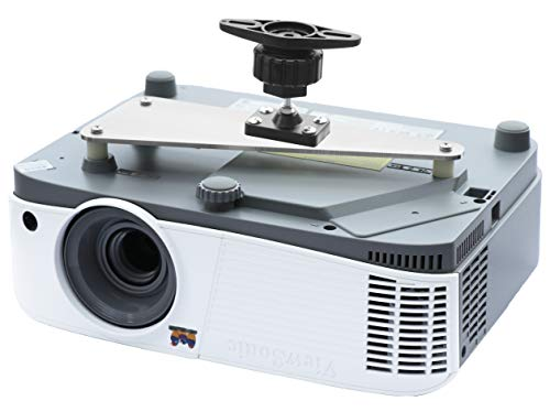 PCMD, LLC. Projector Ceiling Mount Compatible with ViewSonic PJD5255 PJD5555w PJD6350 PJD6351LS (4-Inch Extension) ()
