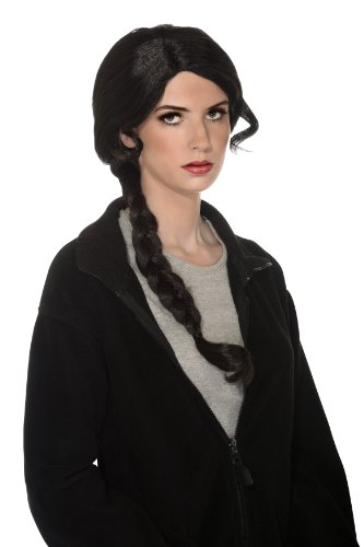(Rubie's Adult Contestant Wig, Black, One)