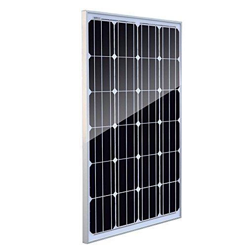 Giosolar 100W Solar Panel 100Watts 12v Monocrystalline Solar Panel 100W, Off Grid 12 Volt 12V RV Boat-Giosolar