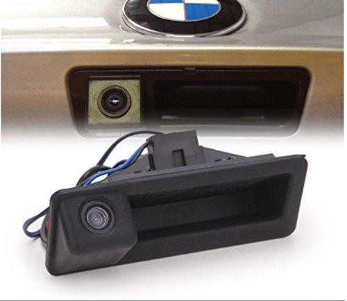 (Car Trunk Handle Camera Rear View HD Camera for BMW 3 Series 5 Series BMW X5 X1 E82 E88 E84 E90 E91 E92 E93 E60 E61 E70 E71 E72 (2003-2009))