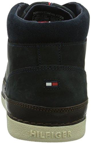 Tommy Hilfiger FELIX 5N, Herren Hohe Sneakers, Blau (MIDNIGHT COFFEE BEAN  403), 46 EU (11.5 Herren UK)  Amazon.de  Schuhe   Handtaschen a456fbaf94