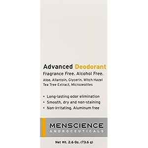 MenScience Androceuticals Advanced Deodorant, 2.6 oz.