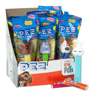 Pez 34217 Secret Life Of Pets - Pack of 12