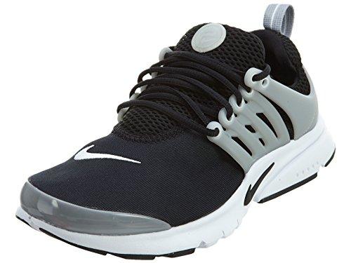 Nike Presto Gs Jeugdschoen Loopschoen Zwart / Zwart-wit-wolf Grijs
