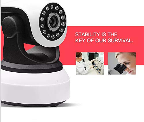 Cámara IP Wifi, Camaras De Vigilancia Interior, HD 720P Cámara De Seguridad P2P IR Visión Nocturna / Detección De...