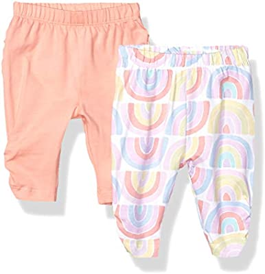The Childrens Place Baby Girls 2 Pack Basic Leggings