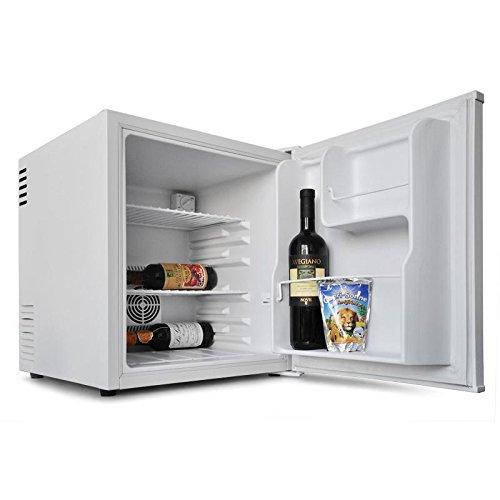 Klarstein Minibar Kompakt Mini Kühlschrank 40 Liter mattweiss (2 Regale, 2 Depots)