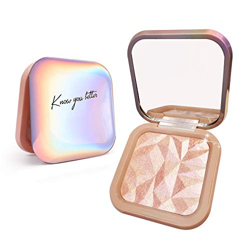 LSxia Highlighter Makeup Palette Shimmer...