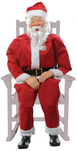 Morris Costumes Rocking Chair Santa Boxed]()