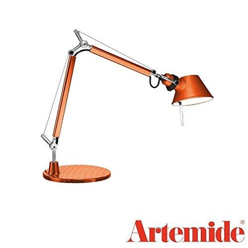 (Artemide Tolomeo Micro Table Lamp Bronze LED E12 Bulb Included)