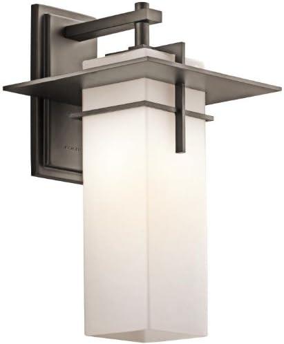Kichler 49644OZ, Caterham Outdoor Wall Lighting, 150 Total Watts, Olde Bronze