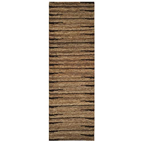 (Safavieh Organica Collection ORG211A Hand-Knotted Natural Wool Runner (2'6
