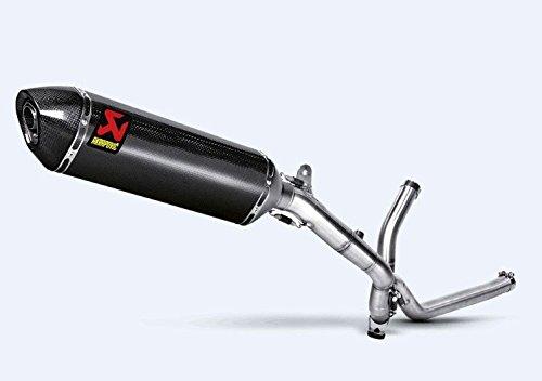 (Akrapovic 04-12 Suzuki DL650 Slip-On Exhaust (Carbon)