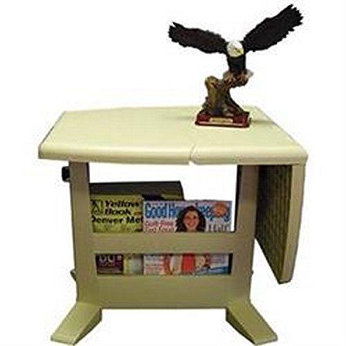 B&R Plastics RV Trailer Magic Table Magic Folding Table Table (B&r Plastics 150 01bg Magic Folding Table)