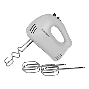 Westinghouse WHM5WA Select Series 5 Speed Hand Mixer, White
