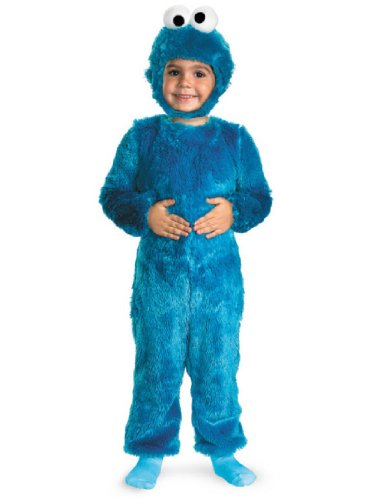 Cookie Monster Comfy Fur Costume - Medium (Kids Cookie Monster Costume)