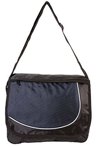 Bag Medium Rock Shoulder Black Mens Silver Navy qfwO4
