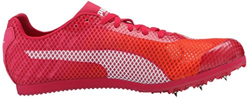 12 evoSPEED B US Peach White nbsp;pista Red mujer Star de Spike M Puma V4 zapatos Rose la Fluo gnC6CdU