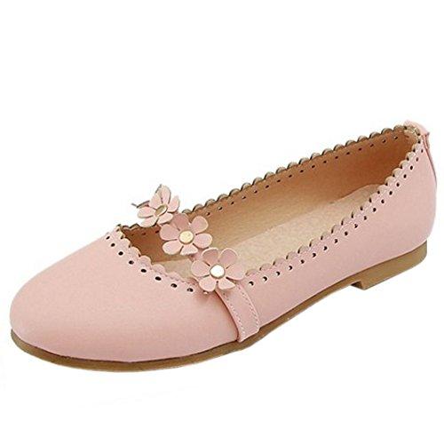 Zanpa 2 Mujer Pumps Dulce Pink Plano 1gO1xw6