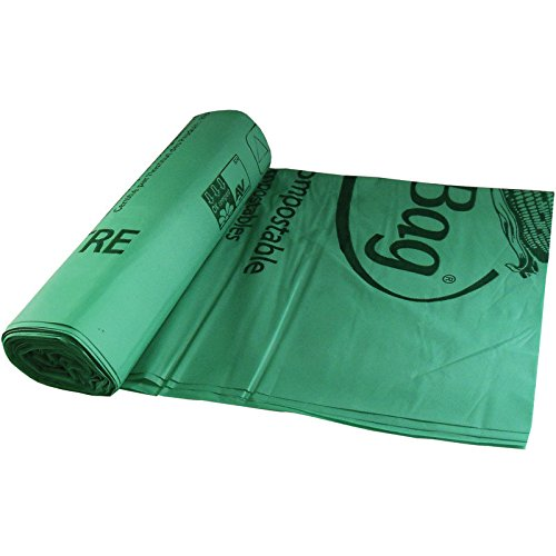 BioBag 60 gallon Compostable Liners (10 Bags/8 Rolls per Case), 44.5'' x 55''