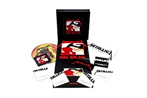 Kill 'Em All (Remastered) (Deluxe Boxset) (4LP/5CD/1DVD w/book and patch)