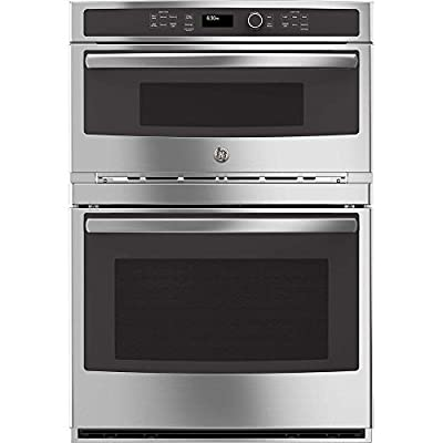 """GE JT3800SHSS 30"""" Stainless Steel Electric Combination Wall Oven"""
