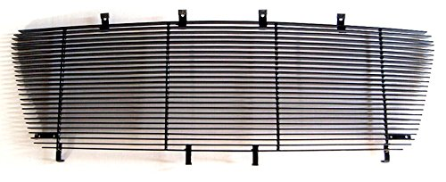 Replacement Upper Grille (MaxMate 04-08 Ford F-150 Require Remove OE Grille Replacement Upper 1PC Horizontal Billet Black Powder Coated Aluminum Grille Grill Insert)