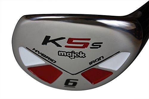 Majek Golf Petite Senior Lady #6 Hybrid Lady Flex Right Handed New Rescue Utility''L'' Flex Club (Petite - 5' to 5'3'') by Majek Golf (Image #2)
