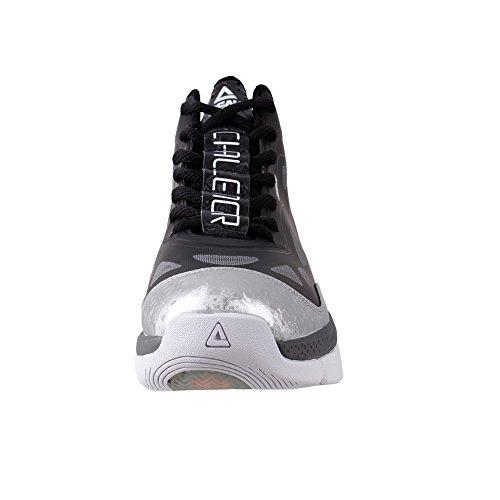 Pic Mens Challenger Ii Chaussures De Basket Noir / Argent