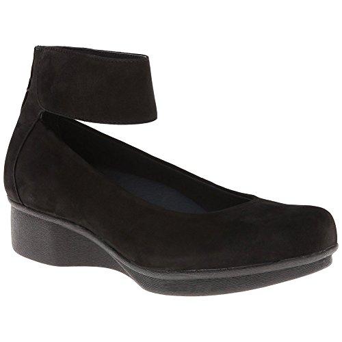 Dansko Dansko LuLu Women Flats Shoes, Black Nubuck, Size ...