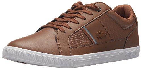 Lacoste Mens Europa 417 1 Sneaker Dark Brown