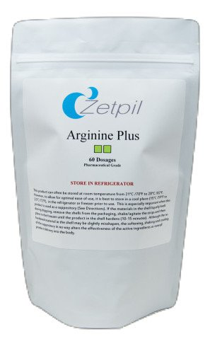 Zetpil L-arginine, 60 Suppositories with Free Applicator, Maximum Absorption, Supports Nitric Oxide Levels, Immune System, Circulatory System, Cardiovascular Health, Muscle Endurance, More