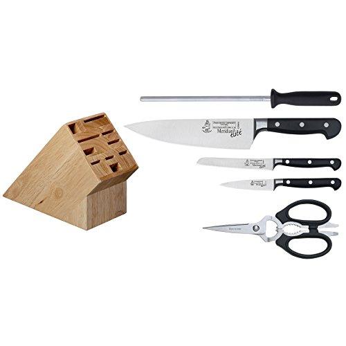 Messermeister-Made In Germany-Meridian Elite Initial Knife Block Set , 6-Piece