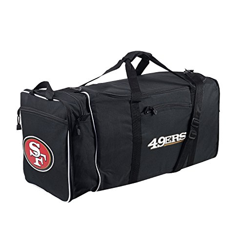 The Northwest Company NFL San Francisco 49ers Duffle Bag, One Size, Black by The Northwest Company