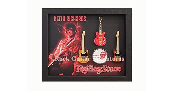 RGM8994 Keith Richards The Rolling Stones - Colección de Guitarras ...