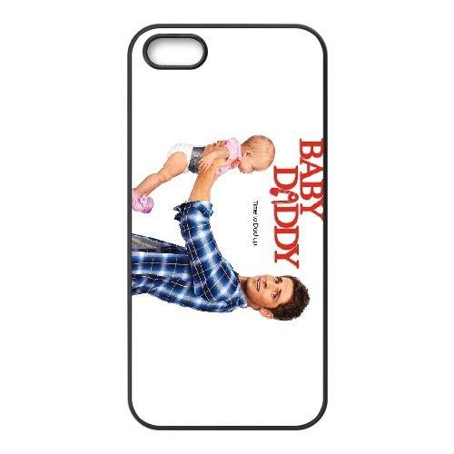 Baby Daddy 2 coque iPhone 4 4S cellulaire cas coque de téléphone cas téléphone cellulaire noir couvercle EEEXLKNBC23289