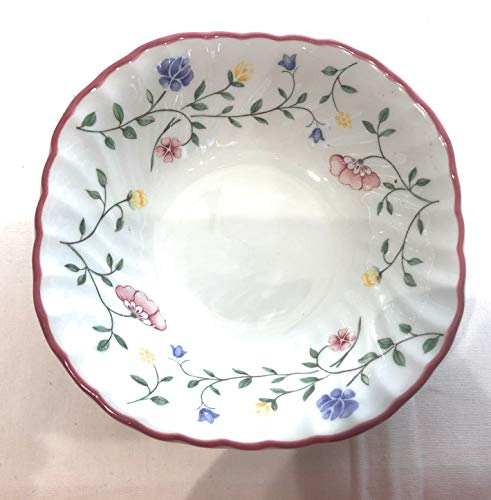 - Summer Chintz by Johnson Brothers, China Coupe Cereal Bowl, Square