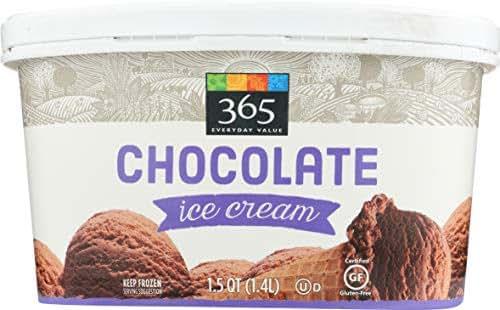 365 Everyday Value, Chocolate Ice Cream, 48 oz (Frozen)