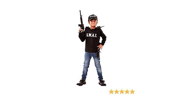 Disfraz de Agente S.W.A.T. para niño: Amazon.es: Juguetes y juegos