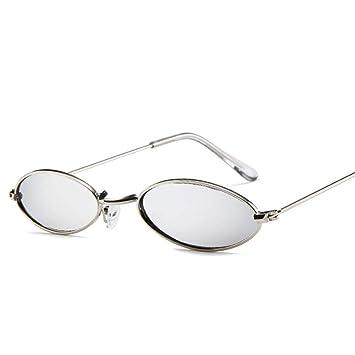 ZHOUYF Gafas de Sol Gafas De Sol Ovaladas Pequeñas ...