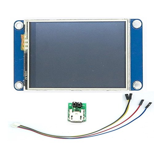 WIshioT Nextion 2.4'' UART HMI Smart LCD Touch Display Module NX3224T024 for Arduino Raspberry Pi ESP8266 by WIshioT