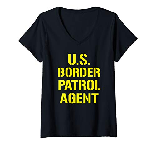 Womens US Border Patrol Agent Customs Immigration