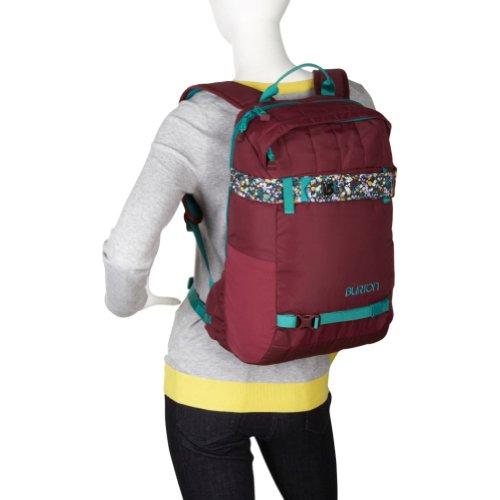 Amazon.com  Burton Day Hiker 23L Backpack - Women s - 1404cu in  Sangria Ditsy Floral Print 5e58c9e003984