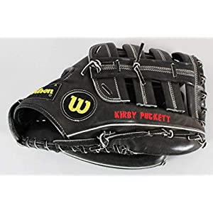 1990 Kirby Puckett Game Used Glove Signed Twins COA & JSA PSA/DNA Certified MLB Autographed Game Used Gloves