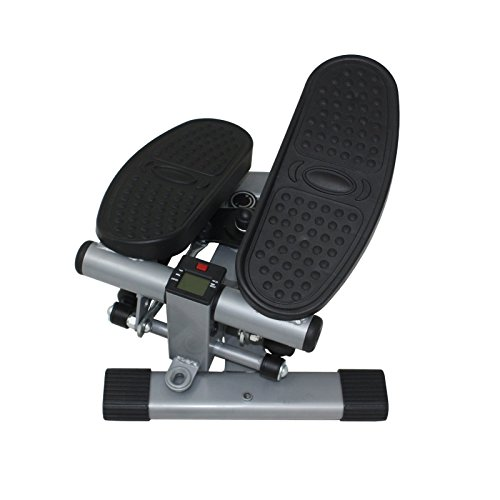 Sunny Health & Fitness Dual Action Swivel Stepper