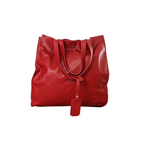 Rouge main à 1973 cuir DKS Sac 8PqwxB